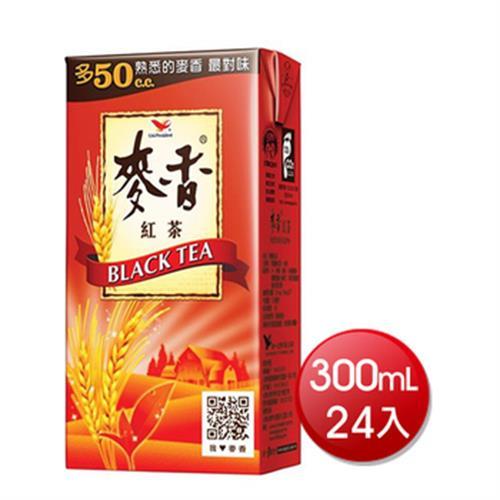 《統一》麥香紅茶(300ml*24入)