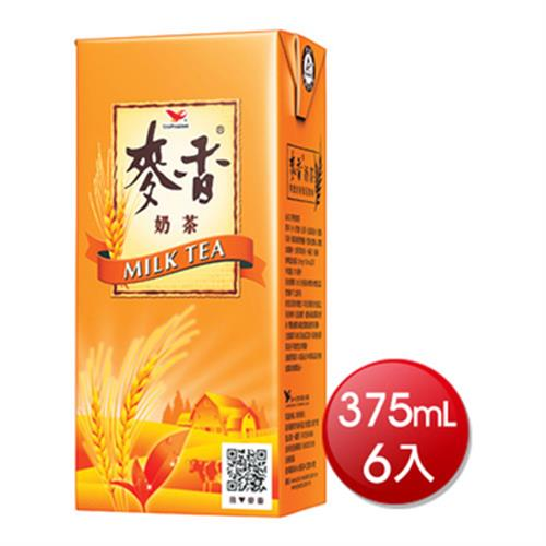 統一 麥香奶茶(375ml*6入)