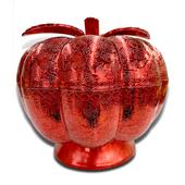 南瓜旋轉分隔糖果盒 裝飾盒 擺飾-21X12cm(紅)