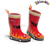 《美國Kidorable》童趣雨鞋 SIZE : US 9 號(消防員款)