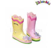 《美國Kidorable》童趣雨鞋 SIZE : US 9 號(蓮花款)