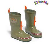 《美國Kidorable》童趣雨鞋 SIZE : US 8 號(恐龍款)