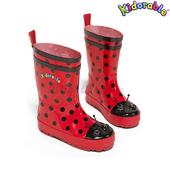 《美國Kidorable》童趣雨鞋 SIZE : US 8 號(瓢蟲款)
