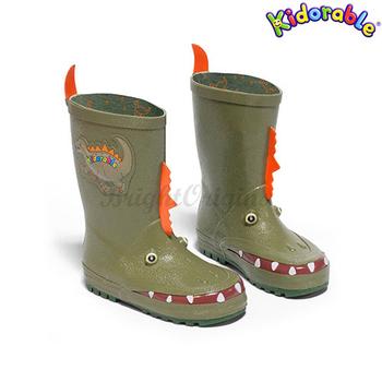 《美國Kidorable》童趣雨鞋 10(恐龍款)