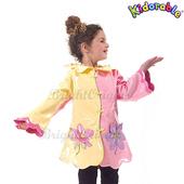 《美國Kidorable》童趣雨衣 3T(蓮花款)