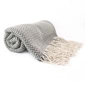 《halla malmo》Zigzag blanket -萬用毯 幾何線條 EV180911-G130*170 cm $499