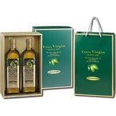 《台糖》特級初榨橄欖油禮盒(0.75L*2)