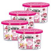 《妙管家》芳香除濕劑-玫瑰花香(400ml*4)