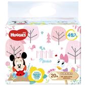 《好奇》迪士尼純水溼巾-厚型(20抽x4包)