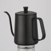 手沖咖啡細口壺 600ml/個含蓋-黑色 $499