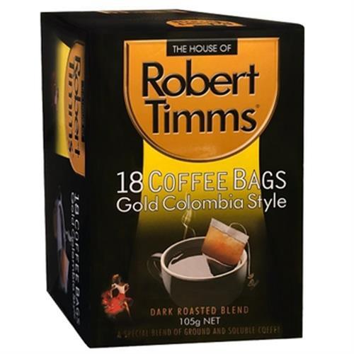 《Robert Timms》濾袋咖啡-105g/盒(黃金哥倫比亞)