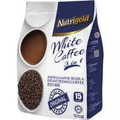 《NUTRIGOLD》速溶白咖啡飲料(三合一(原味)30g×15包/袋)