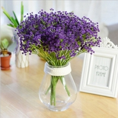 《仿真花》滿天星 紫色(長約40cm)