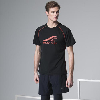 《SAIN SOU》吸濕排汗圓領衫T26819-01(S)