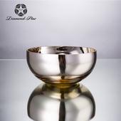 《Novella Amante》玻璃裝飾盤。銀金19.5xH9cm $590