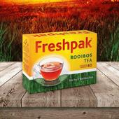 《即期良品2020.10》Freshpak 南非國寶茶(RooibosTea) 茶包(80入*2盒/組)