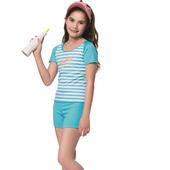 《SARBIS》泡湯 SPA中童兩截式泳裝附泳帽B72808(S)