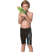 《SARBIS》泡湯 SPA兒童七分泳褲附泳帽B65808-01(14)