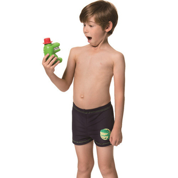 《SARBIS》泡湯 SPA兒童四角泳褲附泳帽B62805(12)