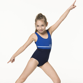 《SARBIS》泡湯 SPA女童連身三角泳裝附泳帽B2106(18)