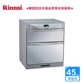 《林內》落地式烘碗機_雙門抽屜45CM_RKD-4553(P) (BA320001)