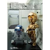 《野獸國》星際大戰C-3PO  R2D2 雙入組(EAA-010)