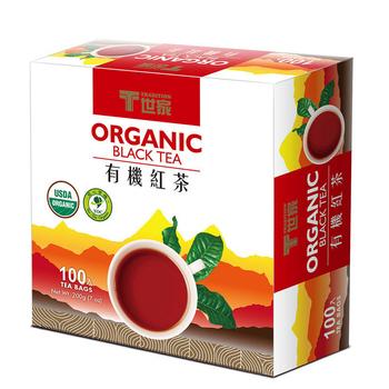 ★結帳現折★T世家 有機紅茶-簡易茶包 2g *100入