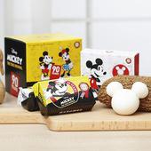 《限量禮盒》米奇蜂王黑砂糖香皂4+1造型皂 款式隨機出貨(80g*4+45g)