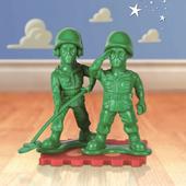 《野獸國》玩具總動員迷你蛋擊公仔系列綠色士兵款(MEA-001)