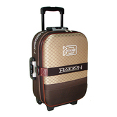 《BATOLON&ROYAL POLO》混款布面登機箱/行李箱 〈18吋 買1送1〉(經典風華 咖啡)