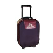 《ROYAL POLO皇家保羅》混款布面登機箱/行李箱 〈17吋〉(素面 紫)
