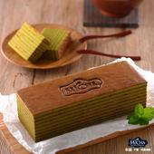 《米迦》靜岡抺茶千層蛋糕(蛋奶素)(430±50gx3)