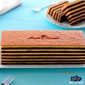 《米迦》巧克力千層蛋糕(蛋奶素)(430±50gx3)