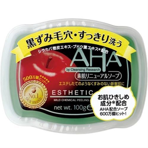 《日本BLC》AHA柔膚潔面皂 蘋果酸 敏感肌(100g/塊)