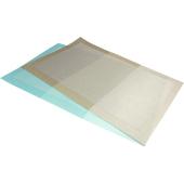 《halla malmo》餐墊-歐式條紋 70% Vinyl 30% Polyester(藍色)