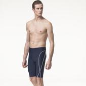 《SARBIS》泡湯 SPA 加大七分泳褲附泳帽B55813-02(3L)