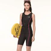 《SAIN SOU》泡湯 SPA二件式泳裝附泳帽A92812(M)