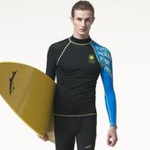 抗UV防水母螫咬半身水母衣A90809