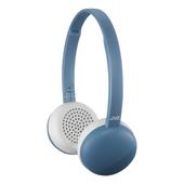 《JVC》無線藍芽立體聲耳機(HA-S28BT-A 藍色)