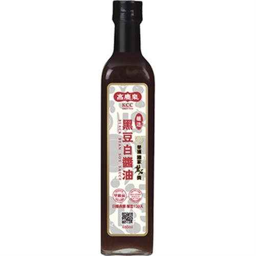 《高慶泉》黑豆白醬油(480ML)