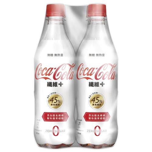 《可口可樂》纖維+(600mlx4)