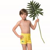 《SAIN SOU》泡湯 SPA兒童四角泳褲附泳帽A62802-04(6)