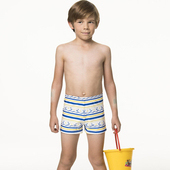 《SAIN SOU》泡湯 SPA兒童四角泳褲附泳帽A62801(6)
