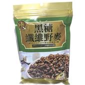 《達人傳家》黑糖纖維野麥(210g/包)