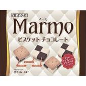 《即期2019.10.08 日幸 NIKKOH Marmo》大理石巧克力餅乾(105g)