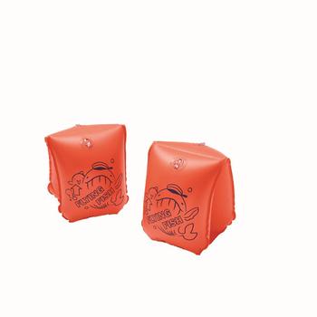 《SAIN SOU》4-6歲專用手臂圈*兩個-A36817(紅色)