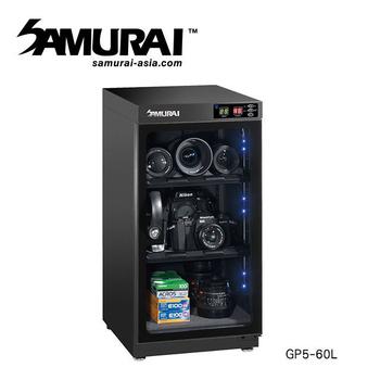 《SAMURAI》新武士 GP5-60L 數位電子防潮箱(公司貨)
