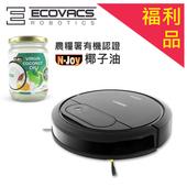 《ECOVACS》智慧吸塵機器人DEEBOT DN78(福利品)+恩久500ml有機椰子油乙瓶 $11490