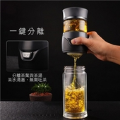 玻璃茶水分離壺280ml/個