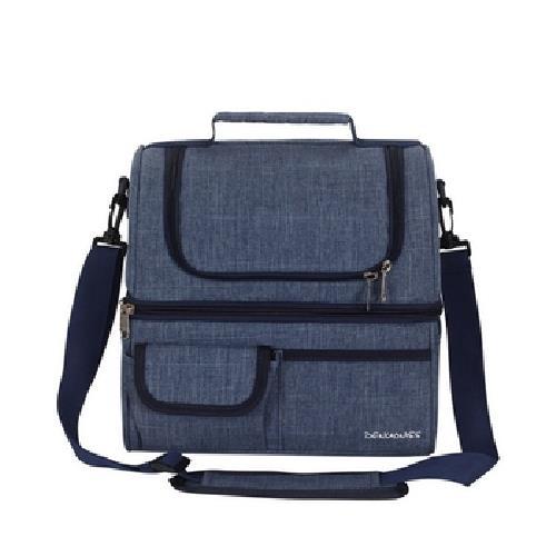 《DENUONISS》EVA分層保溫野餐袋 26*20*27cm(藍)